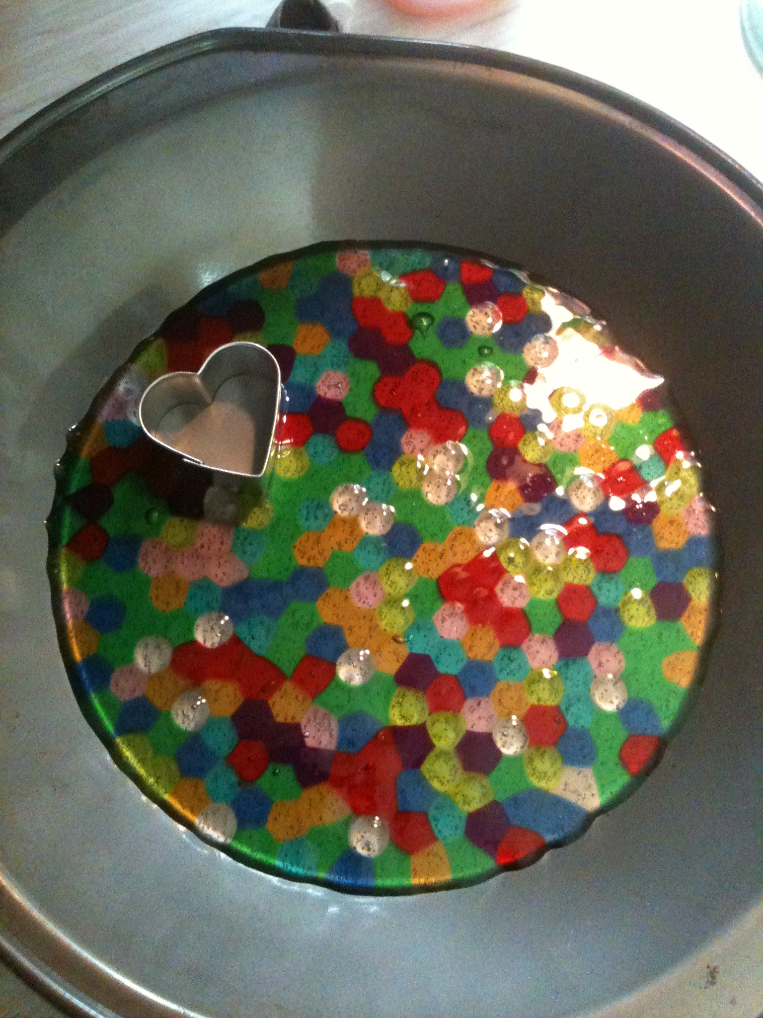 Plastic beads for crafts - Baked