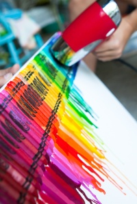 melty crayons on Pinterest