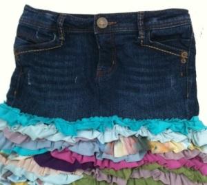 10 ruffle skirt