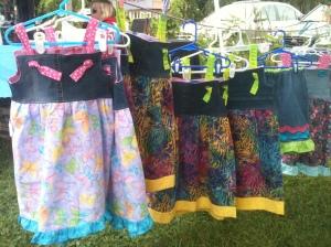 Knotty dresses
